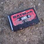 batman comics cassette tape wallet