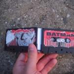 new batman wallet cassette tape