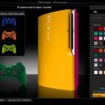 yellow ps3 slim mod colorware