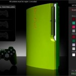 green ps3 slim mod colorware
