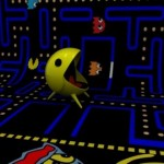 cool designer chair pacman game