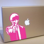 cool pulp fiction jules laptop decals