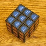 cool rubiks cube pacman game