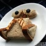 cool wall e food art sandwich