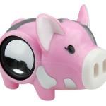 cute pink pig speakers