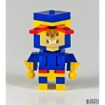 cool cyclops superhero lego art