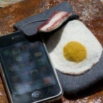 delicious bacon and egg iphone case