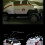 Ecto-2 Presents Ghostbusters Concept Hummer1