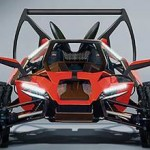 cool flying car from parajet automotive