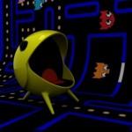 fun pacman game chair