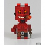 cool hellboy superhero lego art