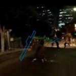 human tetris skateboard game