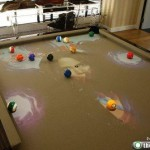 interactive light pool table