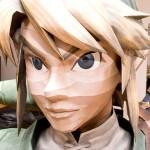 link face papercraft