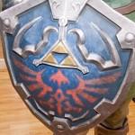 link legend of zelda paper shield