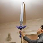 link zelda sword papercraft