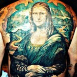 mona lisa tattoo