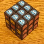 new rubiks cube pacman game