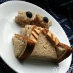 new wall e art sandwich