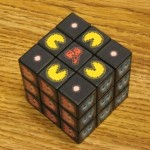 pacman rubiks cube toy