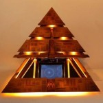 pyramid computer case mod