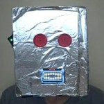 robot mask iphone mouth
