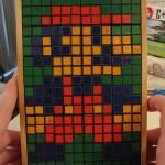 super mario bros  rubik's cube art