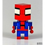cool spiderman superhero lego art