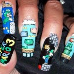 super mario brothers fingernails