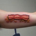 tasty bacon tattoo