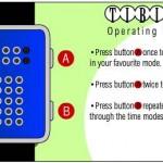 tibida tokyoflash watch overall instructions