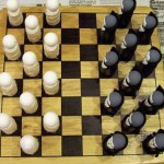 vampires vs mummies checker board