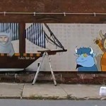 where the wild things are street mural