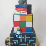 80's cake design