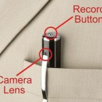 Sleek Video Camera Pen 2