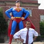 barack obama superman politics