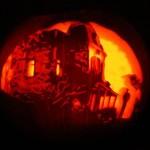 bates hotel pumpkin carving