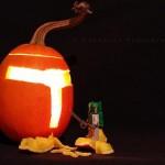 boba fett helmet pumpkin carving