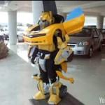 bumblebee transformer costume halloween