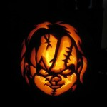 child's play pumpkin face