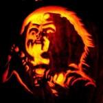 chucky pumpkin face