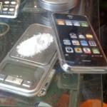 cocaine scale iphone case