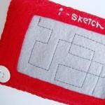 cool etch a sketch iphone case