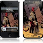 cool hellboy iphone skins