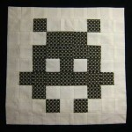 cute space invaders pillows