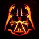 darth vader pumpkin face