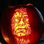 emperor palpatine pumpkin face