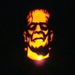 frankenstein monster pumpkin carving