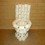 funny toilet paper toilet