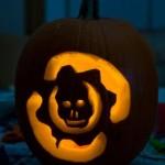gears of war logo pumpkin